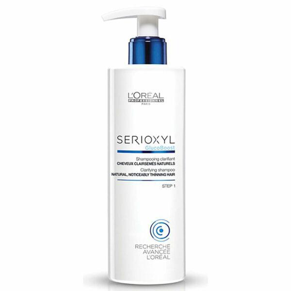 L'oréal Professionnel Serioxyl Gluco Boost Clarifying Shampoo Natural Hair 250 Ml