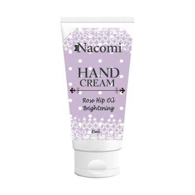 Nacomi Brightening Hand Cream With Rosehip Oil 85ml