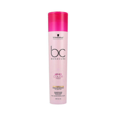 Schwarzkopf Professional Bc Bonacure Color Freeze Gold Shimmer Micellar Shampoo 250ml