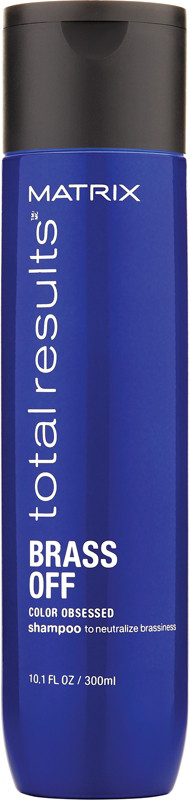 Matrix Total Results Brass Off Shampoo For Blonde Hair 300ml