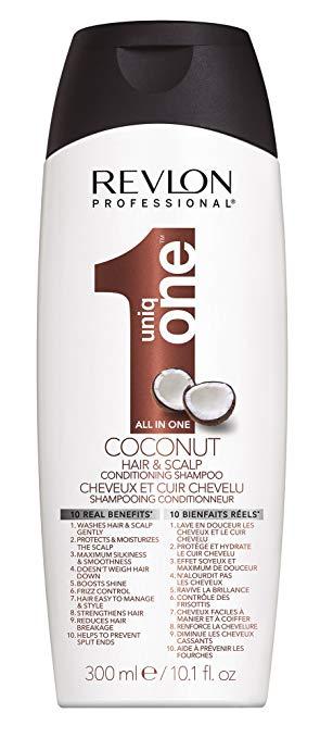 Revlon Professional Uniqone Coconut Hair And Scalp Conditioning Shampoo 300ml