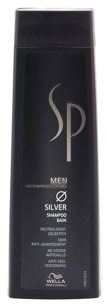Wella Sp Men Silver Shampoo For Grey Hair 250 Ml